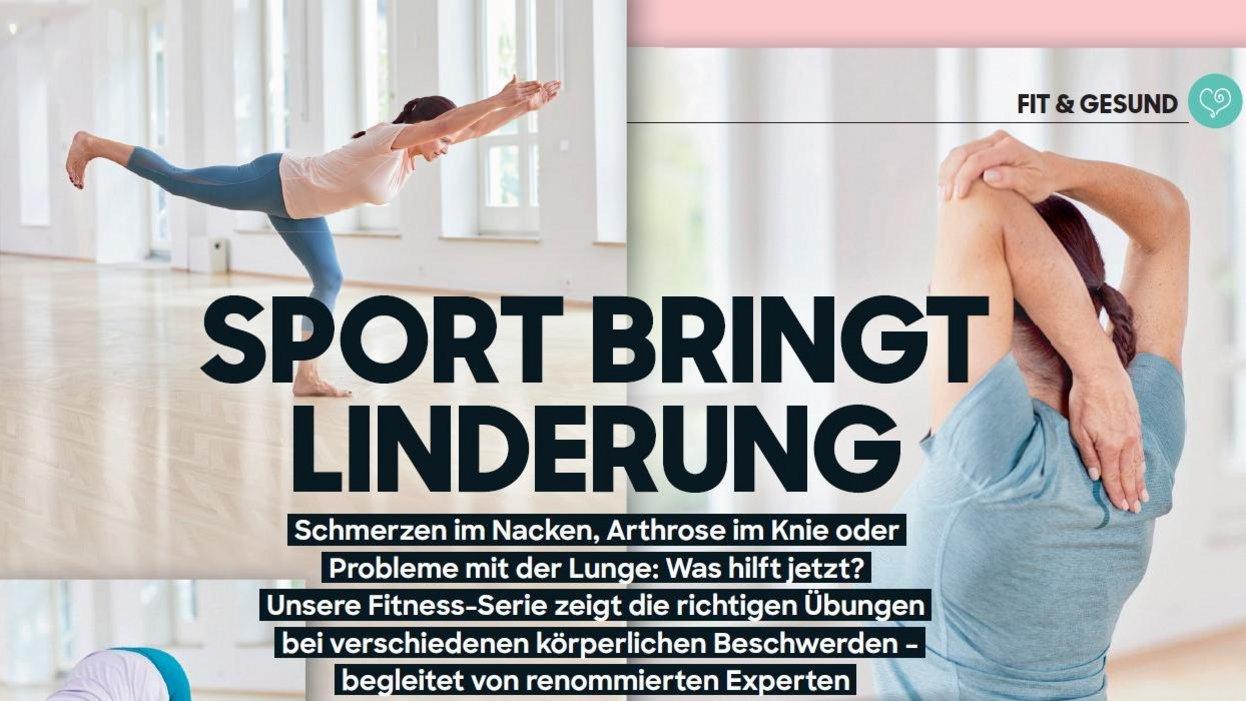 Probleme mit dem Nacken: Sport bringt Linderung